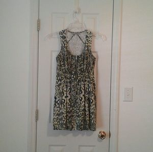 Andrew Marc Dresses - Andrew Marc animal print inspired dress w/ pockets